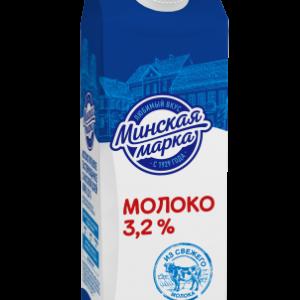 Молоко 3,2% 0,5 л пастеризованное