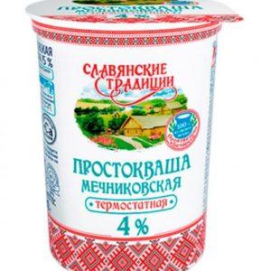 """Простокваша """"Мечниковская"""" 4% 380 г"""