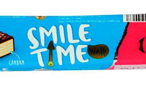Вафельный батончик «Smile Time» сливки