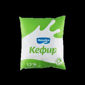 Кефир 1,5% 0,5л