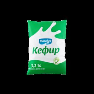 Кефир 3,2% 0,2 л