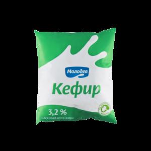 Кефир 3,2% 0,5 л