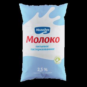 Молоко пастеризованное 2,5%