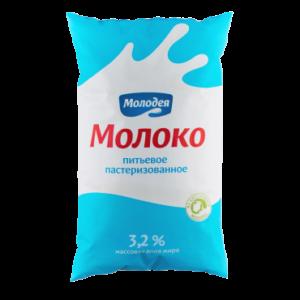 Молоко пастеризованное 3,2%