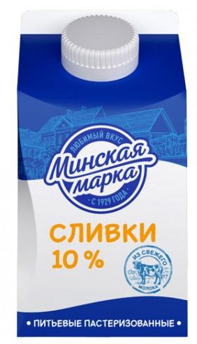 """Сливки """"Минская марка"""" 10% 500 г"""