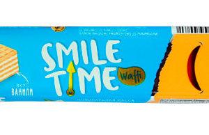 Вафельный батончик «Smile Time» со вкусом ванили