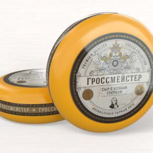 """Сыр """"ГРОССМЕЙСТЕР"""" 50%"""