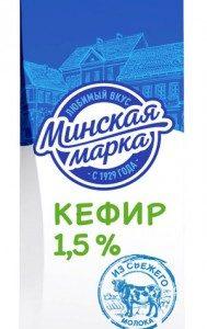 Кефир 1,5% 1кг