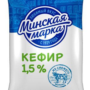 Кефир 1,5% 1 кг