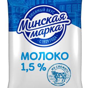 Молоко 1,5% 1 л пастеризованное