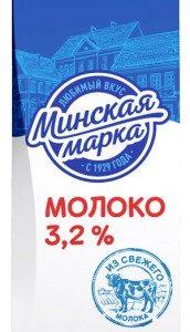 Молоко 3,2% 1 л пастеризованное