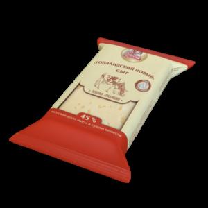 """Сыр """"Голландский новый"""", жирность - 45 %"""